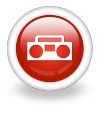 "Light Red Icon ""Radios"""