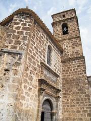 iglesia parroquial de la asuncion de santa maria en letur