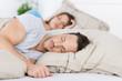 junges paar schläft - 42593225