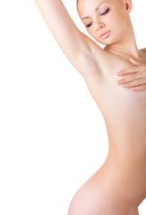 A healthy woman's body