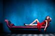 elegant sensual woman