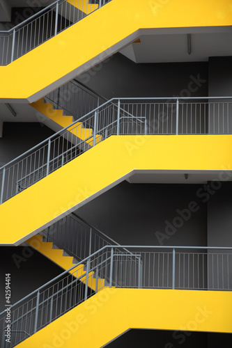 Emergency escape stairs