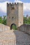 Frias bridge, Burgos  (Spain) poster