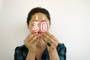 woman turning 30 years of age