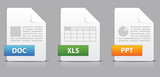 Icons for office file extensions