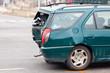 Blechschaden bei Autounfall