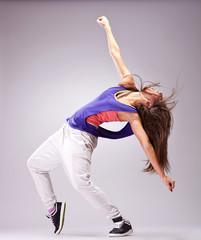 Beautiful woman dancer