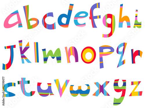 英文手写字体设计艺术字图片; 创意字母设计10; 艺术字图片