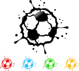 soccer ball splat