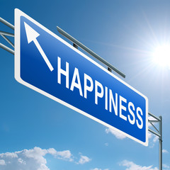 Happiness concept.