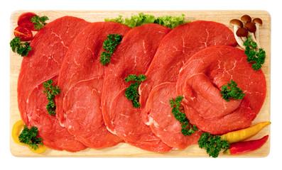 Bistecche di vitellone