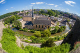 Luxembourg panoramic view