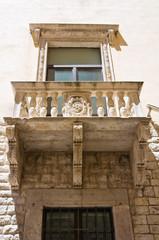 Della Marra palace. Barletta. Puglia. Italy.