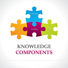 Knowledge components diagram