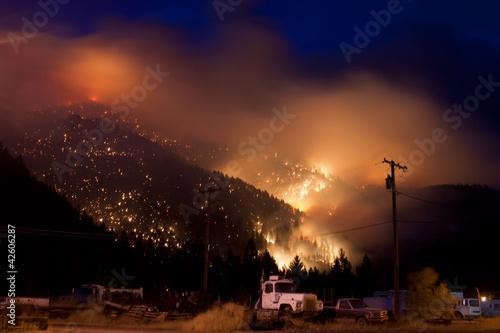 Leinwandbild Motiv Wild Fire
