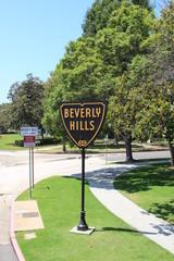 Beverly Hills Schild in Beverly Hills (Los Angeles)