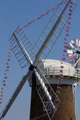 Norfolk Broads Windpump - Windmill Driven Pump - UK