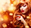 obraz - Golden Fashion Gir...