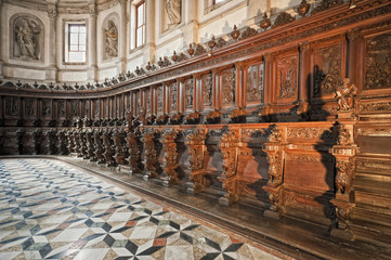 Venice: Saint George church choir