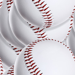 Baseball ball (Seamless texture)
