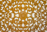 filigree wood carvings poster