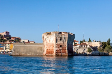 Linguella Tower, Portoferraio, Elba Island