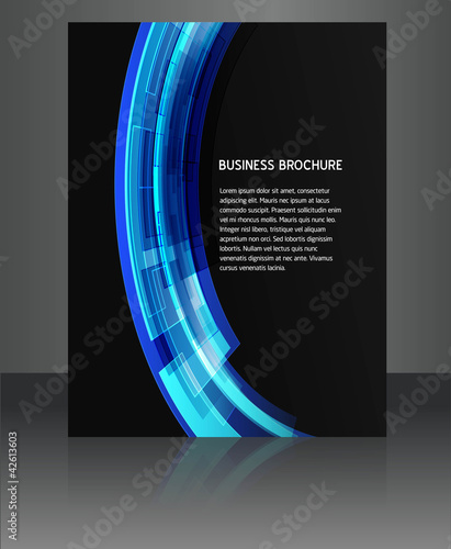 abstract  flyer vector brochure design illustration