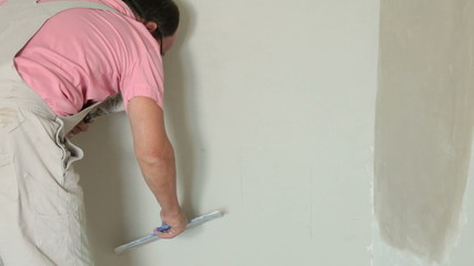 Applying Plaster to New Plasterboard Wall