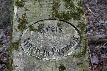 Grenzstein Kreis Hameln-Pyrmont