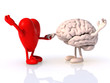 heart and brain that dance