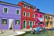 quai coloré de Burano
