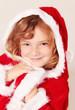Kleine Miss Santa