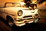Fototapety Vieille voiture américaine, Cuba
