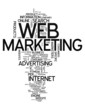 "Word Cloud ""Web Marketing"""