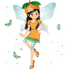 Fatina arancia-Orange fairy