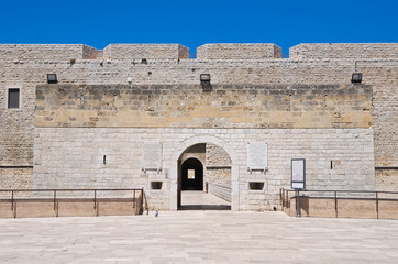 Castle of Barletta. Puglia. Italy.