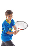 Fototapety boy playing tennis