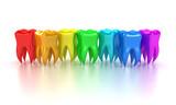 Fototapety The teeth