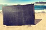 Beach Blackboard - Fine Art prints