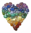 Chakra Gemstone Heart - 42624879