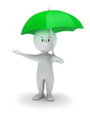 Max mit Schirm 3
