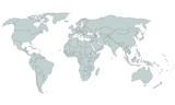 Detaillierte Weltkarte - Detailed Worldmap