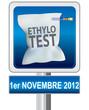 panneau éthylotest obligatoire 1er novembre