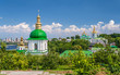 View of Kiev Pechersk Lavra, the monastery listed in UNESCO