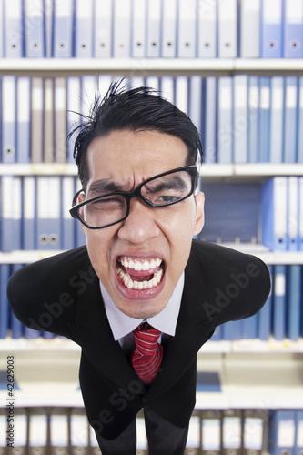 Furious Employee