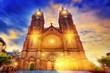 Eglise paroissiale Saint-Jean-Baptiste,Espalion,France.