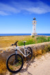 bicycle on Balearic Formentera Barbaria Lighthouse