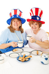 Patriotic Tea Party Voters