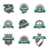 Vintage Labels set. Logo retro. Trendy design. High quality.