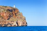 Formentera Faro de la Mola lighthouse sea view poster